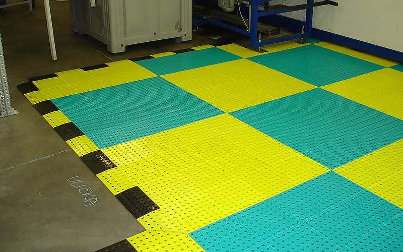 plastic floor safety
