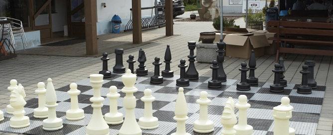 plastic floor giant chess