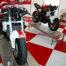 plastic floor motor sport