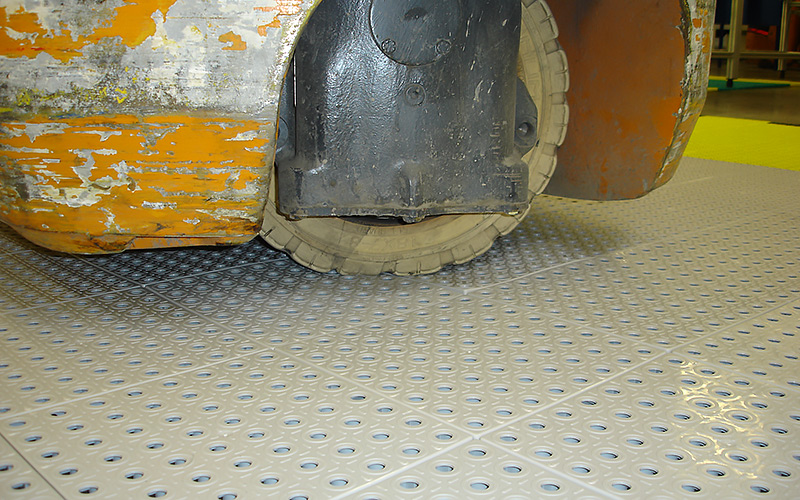 plastic floor industry