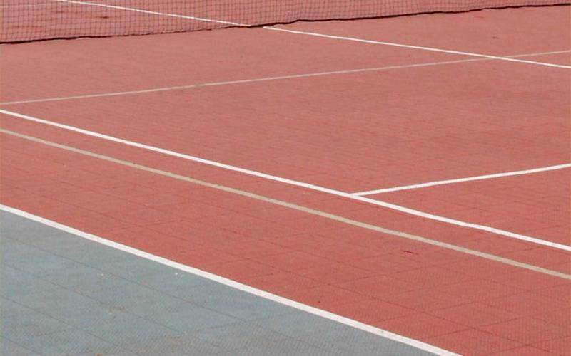 plastic floor sports floor