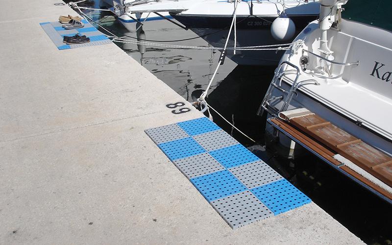 plastic floor water sports